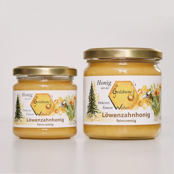Bayerischer Löwenzahnhonig