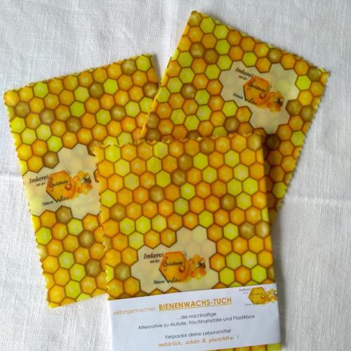 Bienenwachstücher im Set | Imkerei mit der Goldnote