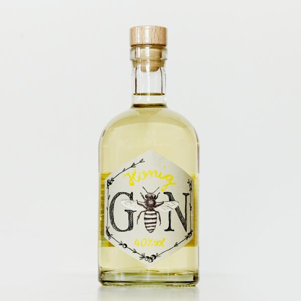 Honig Gin   Imkerei mit der Goldnote